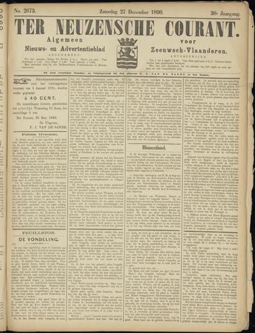 Ter Neuzensche Courant. Algemeen Nieuws- en Advertentieblad voor Zeeuwsch-Vlaanderen / Neuzensche Courant ... (idem) / (Algemeen) nieuws en advertentieblad voor Zeeuwsch-Vlaanderen 1890-12-27