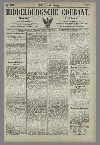 Middelburgsche Courant 1883-10-01