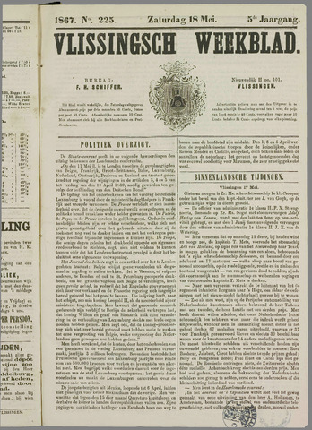 Vlissings Weekblad 1867-05-18