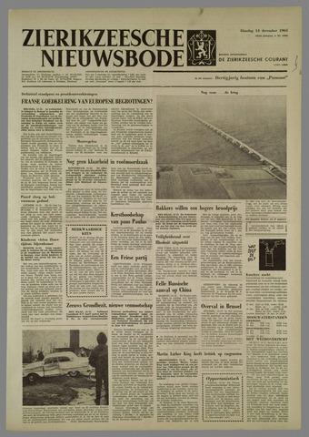 Zierikzeesche Nieuwsbode 1965-12-14