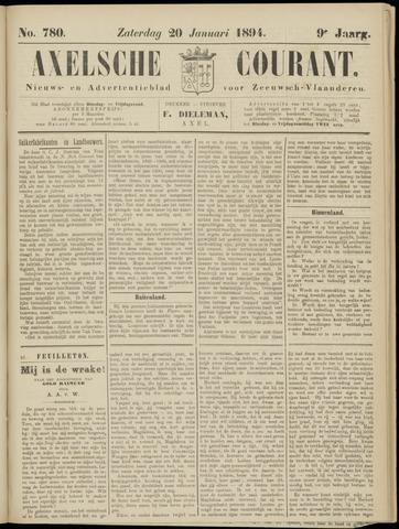 Axelsche Courant 1894-01-20