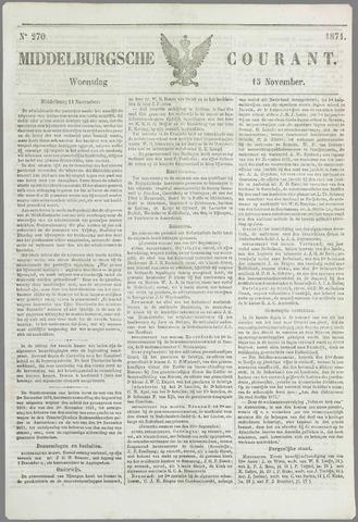 Middelburgsche Courant 1871-11-15