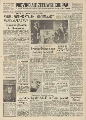 Provinciale Zeeuwse Courant 1961-09-30