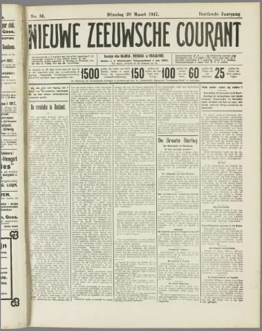 Nieuwe Zeeuwsche Courant 1917-03-20