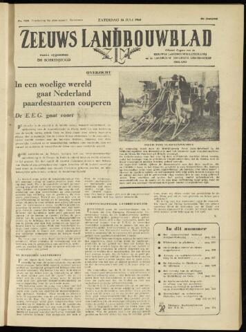 Zeeuwsch landbouwblad ... ZLM land- en tuinbouwblad 1960-07-16