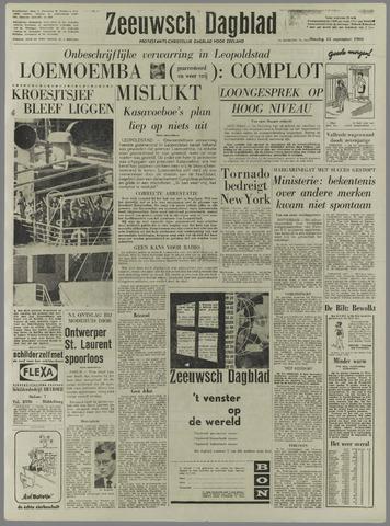 Zeeuwsch Dagblad 1960-09-13