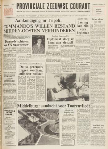 Provinciale Zeeuwse Courant 1970-08-06