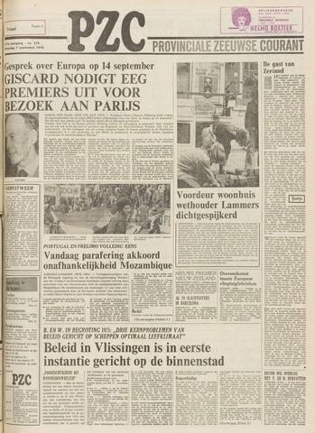 Provinciale Zeeuwse Courant 1974-09-07