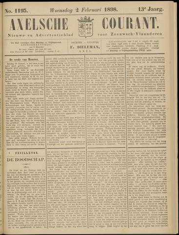 Axelsche Courant 1898-02-02