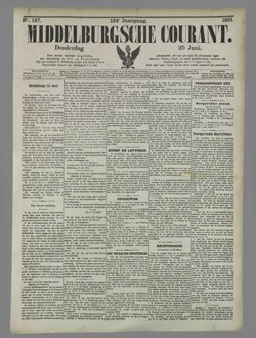 Middelburgsche Courant 1891-06-25