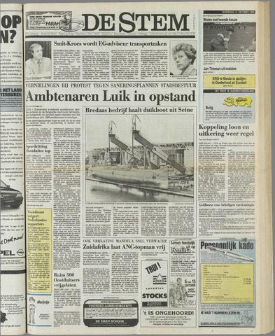 de Stem 1989-10-11