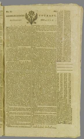 Middelburgsche Courant 1807-07-04