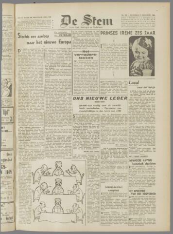 de Stem 1945-08-04