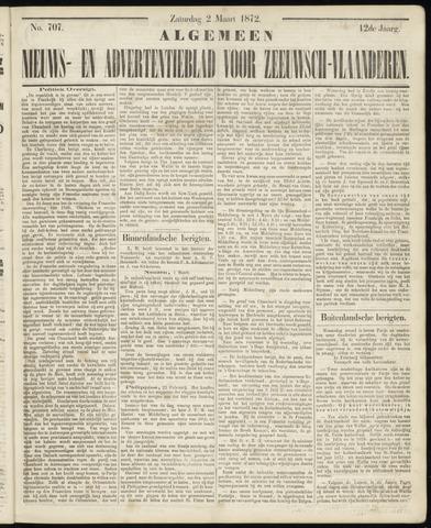 Ter Neuzensche Courant. Algemeen Nieuws- en Advertentieblad voor Zeeuwsch-Vlaanderen / Neuzensche Courant ... (idem) / (Algemeen) nieuws en advertentieblad voor Zeeuwsch-Vlaanderen 1872-03-02