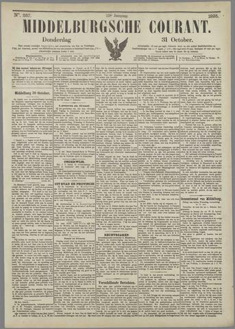 Middelburgsche Courant 1895-10-31