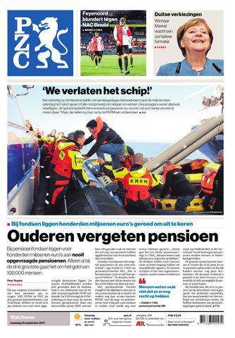 Provinciale Zeeuwse Courant 2017-09-25