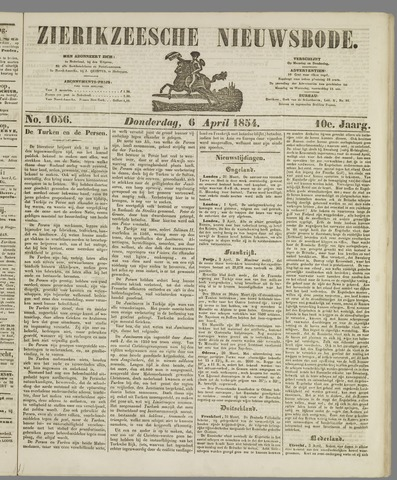 Zierikzeesche Nieuwsbode 1854-04-06