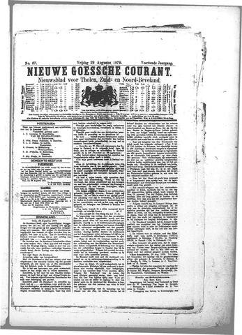 Nieuwe Goessche Courant 1879-08-29