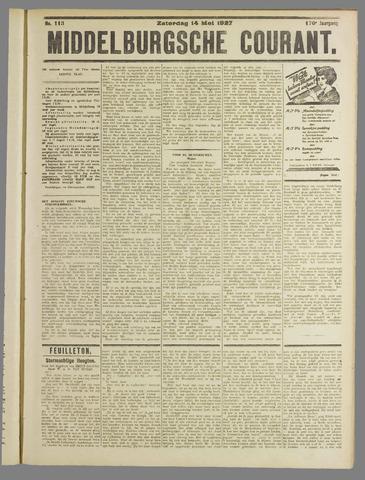 Middelburgsche Courant 1927-05-14