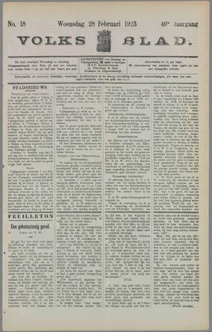 Volksblad 1923-02-28