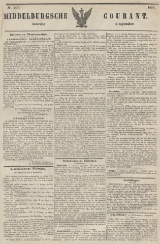 Middelburgsche Courant 1851-09-06