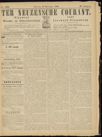 Ter Neuzensche Courant. Algemeen Nieuws- en Advertentieblad voor Zeeuwsch-Vlaanderen / Neuzensche Courant ... (idem) / (Algemeen) nieuws en advertentieblad voor Zeeuwsch-Vlaanderen 1906-12-29