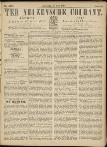 Ter Neuzensche Courant. Algemeen Nieuws- en Advertentieblad voor Zeeuwsch-Vlaanderen / Neuzensche Courant ... (idem) / (Algemeen) nieuws en advertentieblad voor Zeeuwsch-Vlaanderen 1901-06-27