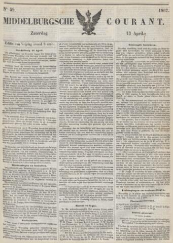 Middelburgsche Courant 1867-04-13