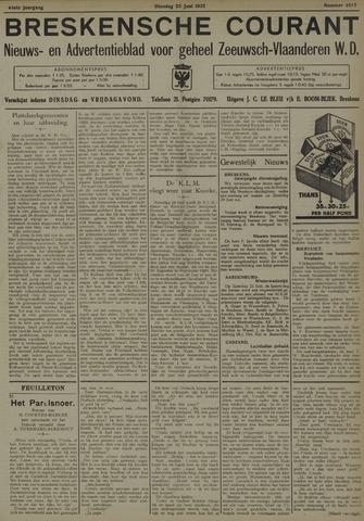 Breskensche Courant 1935-06-25