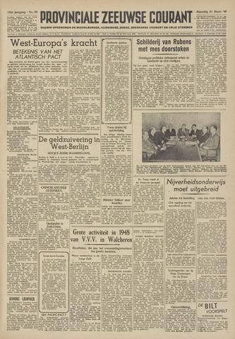 Provinciale Zeeuwse Courant 1949-03-21