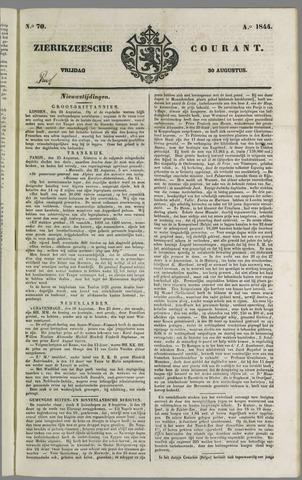 Zierikzeesche Courant 1844-08-30
