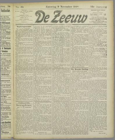 De Zeeuw. Christelijk-historisch nieuwsblad voor Zeeland 1918-11-09
