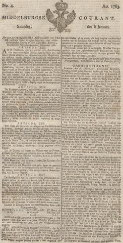 Middelburgsche Courant 1763-01-08