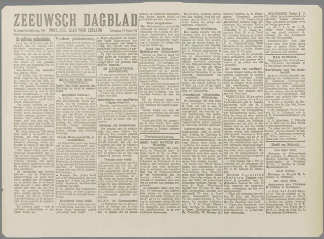 Zeeuwsch Dagblad 1945-09-11
