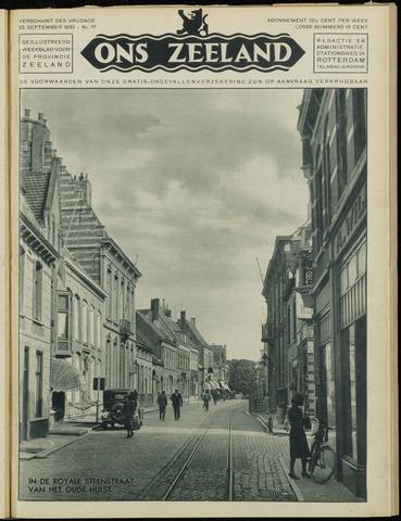Ons Zeeland / Zeeuwsche editie 1932-09-23
