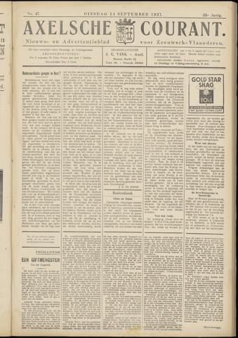 Axelsche Courant 1937-09-14