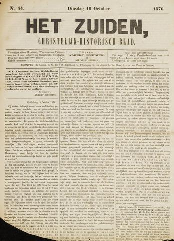 Het Zuiden, Christelijk-historisch blad 1876-10-10