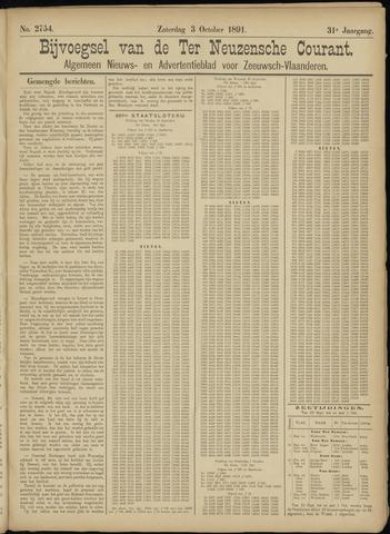 Ter Neuzensche Courant. Algemeen Nieuws- en Advertentieblad voor Zeeuwsch-Vlaanderen / Neuzensche Courant ... (idem) / (Algemeen) nieuws en advertentieblad voor Zeeuwsch-Vlaanderen 1891-10-03
