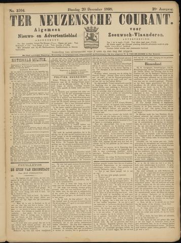 Ter Neuzensche Courant. Algemeen Nieuws- en Advertentieblad voor Zeeuwsch-Vlaanderen / Neuzensche Courant ... (idem) / (Algemeen) nieuws en advertentieblad voor Zeeuwsch-Vlaanderen 1898-12-20