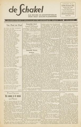 De Schakel 1957-01-18