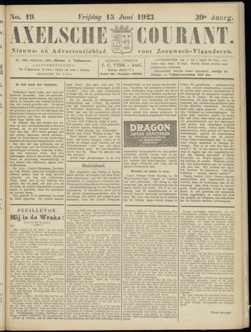 Axelsche Courant 1923-06-15