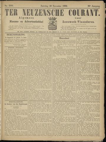 Ter Neuzensche Courant. Algemeen Nieuws- en Advertentieblad voor Zeeuwsch-Vlaanderen / Neuzensche Courant ... (idem) / (Algemeen) nieuws en advertentieblad voor Zeeuwsch-Vlaanderen 1889-11-30