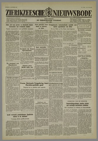 Zierikzeesche Nieuwsbode 1955-10-11