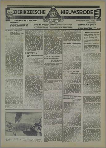 Zierikzeesche Nieuwsbode 1942-10-06