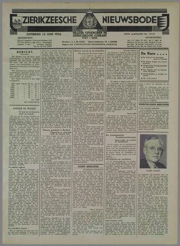 Zierikzeesche Nieuwsbode 1936-06-13