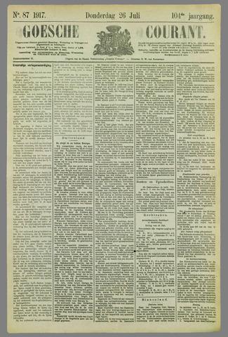 Goessche Courant 1917-07-26