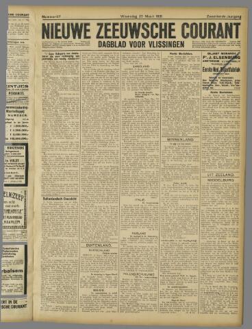 Nieuwe Zeeuwsche Courant 1921-03-23