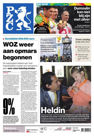 Provinciale Zeeuwse Courant 2016-08-11