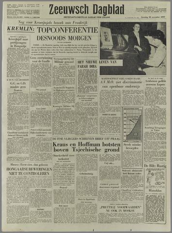 Zeeuwsch Dagblad 1959-11-28