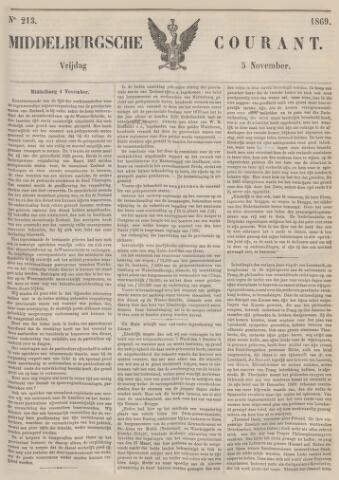 Middelburgsche Courant 1869-11-05